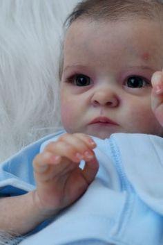 Reborn baby doll Tink by skulpt Bonnie Brown