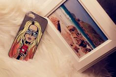 Glaammm :)  #case #apple #iphone #love #girl #art #handmade #drawing