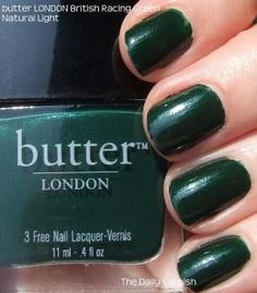 British Racing Green - butter london