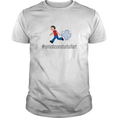 """Funny T-shirt and Hoodie with emoticons fart subject. Why """"let it go"""" is important! 19$ Tee / 34$Hoodie"""