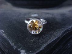 Gold Silver Dior Swarovski Crystal Ring Limited by JennKoDesign