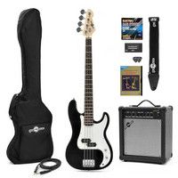 Gear4Music LA Bass Guitar   25W Amp Pack Black Our LA Bass Guitar Bass Guitar   25W Amp Pack features the LA Bass Guitar in Black and our 25W Bass Amplifier and comes bundled with several useful accessories including a guitar lead padded bass guit http://www.comparestoreprices.co.uk/bass-guitars/gear4music-la-bass-guitar- -25w-amp-pack-black.asp