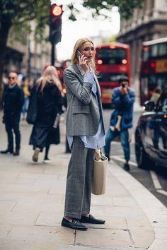 2018 봄/여름 런던패션위크 스트리트에서 포착한 런더너들의 개성만점 퍼스날 스타일