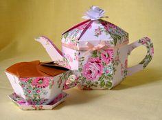Teapot Treats Gift Box - matching tea set