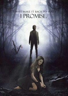"""I will make it back to you, I promise."" Delena. Fanmade. Vampire Diaries. Season 6. Damon and Elena."