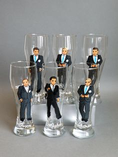Princess Leia Hair Discover Gift for groomsmen Hand painted bachelor party Personalized Beer glasses Customized - Personalized Caricatures Father Of The Bride Outfit, Best Bridesmaid Gifts, Bride Shower, Wedding Glasses, Bridesmaids And Groomsmen, Gifts For Wedding Party, Dream Wedding Dresses, Groomsman Gifts, Wedding Photos
