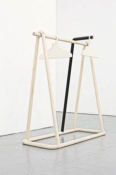 Torsten Neeland& creates wooden framework for new Yohji Yamamoto collection Furniture Board, Kids Furniture, Furniture Design, Retail Fixtures, Store Fixtures, Dressing Table Mirror Design, London Design Festival, Retail Design, Storage Shelves