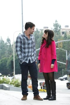 """One of my new favorite couples. Nick and Jess from """"The New Girl"""""""