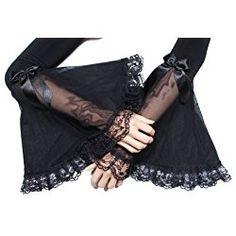 Mangas noche gótica #guantes #gotico #bruja #siniestro #gloves #witch #gothic Fashion, Gloves, Witches, Night, Sleeves, Moda, Fashion Styles, Fashion Illustrations