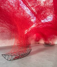 Chiharu Shiota - Uncertain Journey