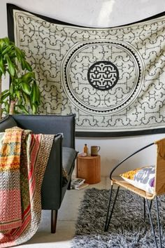 Magical Thinking Desi Maze Medallion Tapestry - Urban Outfitters