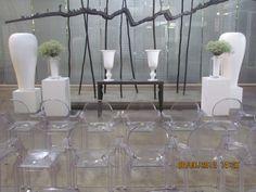 Rudie Stoop creates a beautiful wedding ceremony set-up at the forum Turbine Hall, Wedding Ceremony, Weddings, Beautiful, Home Decor, Homemade Home Decor, Mariage, Wedding, Interior Design