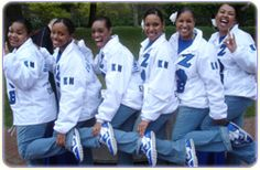 Look at those beautiful coach's jackets! #Zeta #ZPhiB #ZetaPhiBeta #Sorority
