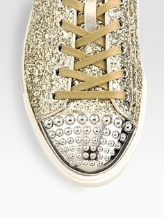 Glam sneaks, babe.