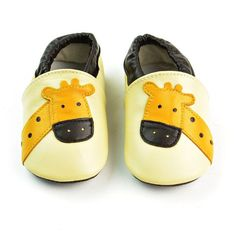 * Soft anti-skid soles<br /> * Breathable and elastic<br /> * Material: Leather<br /> * Hand wash, hang to dry<br /> * Includes: 1 x pair of shoes<br /> * Imported Baby Outfits Newborn, Toddler Outfits, Boy Outfits, Cute Giraffe, First Walkers, Baby Moccasins, Designer Kids Clothes, Baby Boots, Baby Cartoon