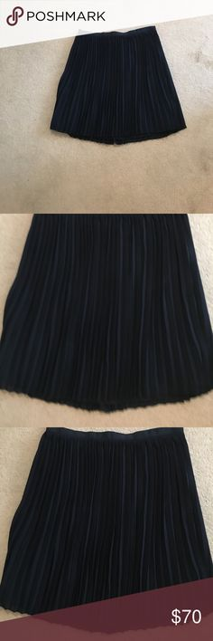 Sale❤️j Crew Pleated above knee length skirt. 💞 Pleated skirt. Never worn. Perfect condition🦋🙏😊💞🎉💯 J. Crew Skirts A-Line or Full