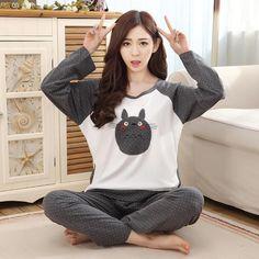 Totoro Adult Pajama Sleepwear Kawaii 58aef01cb