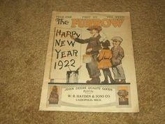 1922 Cassopolis Michigan W.B. Hayden & Sons John Deere Tractor Furrow Paper