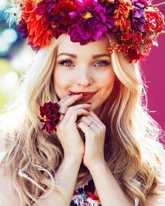 Obsessed with @dovecameron's new photo shoot. #DisneyDescendants #Disney…