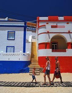 Portugal  , Carvoeiro beach