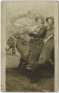"""Found Souvenir photo in Ohio.. Back reads """"Don't let anyone see this Cora."""""""
