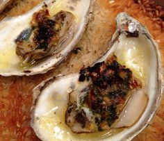 Broiled Oysters with White Wine Recipe