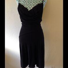 BEBE Dress Low back spaghetti strap wrap style bebe Dresses Midi