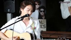 Royal Pirates busking along the Han River at Banpo. The look on his face when he forgot the words though HAHA! 20140802 한강 반포지구 버스킹 This Love (Maroon5 Cover) 로열 파이럿츠 문 직캠