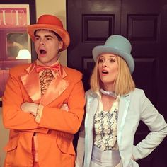 Dumb and Dumber Couples Costume  sc 1 st  Pinterest : dumb and dumber couple costumes  - Germanpascual.Com