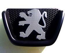Peugeot 206 Carbon Effect Badge