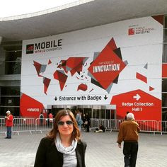 Hello Movil World Congress #barcelona #streetphotography #marketing #mwc2015 #tecnologías #moviles