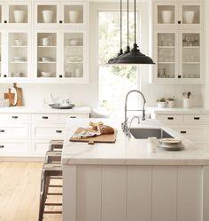 Love this kitchen!  Baltimore Plug-In | Rejuvenation
