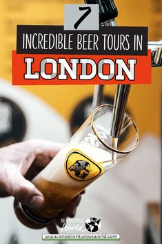 Want to learn all about the London beer scene? From Camden Town Brewery to the Meantime Brewing Company, these are the best London brewery tours for you! #BreweryTourLondon #LondonBreweries #LondonBeer #LondonBeerTour #London #England Europe On A Budget, Things To Do In London, Romantic Getaway, Brewing Company, Amazing Adventures, London Travel, Travel Tips, Travel Ideas, London England