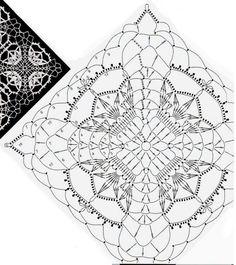 Best 12 No photo description available Crochet Tunic Pattern, Crochet Motif Patterns, Crochet Coat, Crochet Diagram, Crochet Designs, Crochet Squares, Crochet Blocks, Crochet Granny, Free Crochet