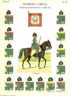 Егеря. 1791 Uniformes de I'Armee Francaise 1690-1894