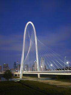 Margaret Hunt Hill Bridge / Dallas (Gallery) - Santiago Calatrava – Architects & Engineers