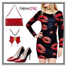 """Newchic26"" by merisa-imsirovic ❤ liked on Polyvore"