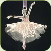SDS0517 3D Ballet Dancer ~ Stitch Delight