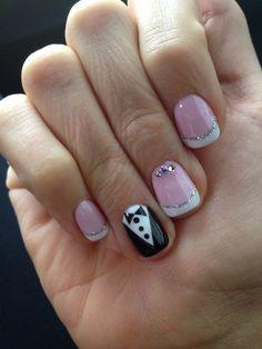 My wedding nail art