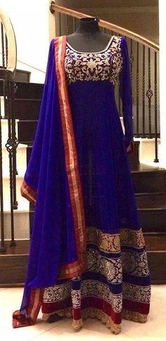 Full length Anarkali
