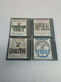 Check out this item in my Etsy shop https://www.etsy.com/listing/234634999/lagunitas-set-of-tile-coasters