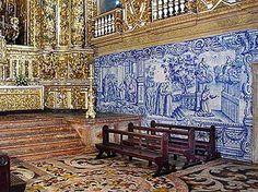 azulejos - church in Portugal
