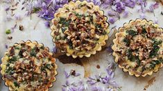 Created by Hanna Mathe, Waterford A delightful dish with an explosion of flavours in every bite, this recipe was one of the winning recipes for the Cheese Up. Pecan Tarts, Blue Cheese, Kale, Muffin, Dishes, Street, School, Breakfast, Recipes