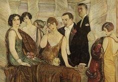 Guido Cadorin, (Deco. Art in Italy. 1919-1939)    Blog of an Art Admirer: Art Deco