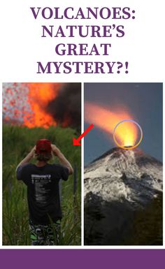 Volcanoes: Nature's Great Mystery? Halloween Horror, Halloween Diy, Greatest Mysteries, April 10, Good News, Mystery, Humor, Memes, Nature