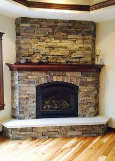 Inspiring Corner Fireplace Ideas In Living Room 31