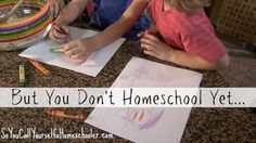 But You Dont Homeschool Yet :: If you are training and discipling your preschool age  children, then you ARE homeschooling! :: SoYouCallYourselfaHomeschooler.com