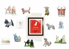Paws up to all of you dog lovers! We have endless pup-related gifts - bookends, drinking glasses, ice buckets, @Jellycat plush pups, & @HerendUSA dog figurines. Happy Paw-lidays! ❤️ George Salley, DIG shop dog. #doglovers #SantaPaws #guidetogiving #DesignImagesAugusta