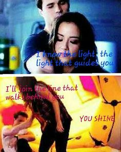 You Shine lyrics by Aly and AJ. Skye is the light of Ward's life. AoS.