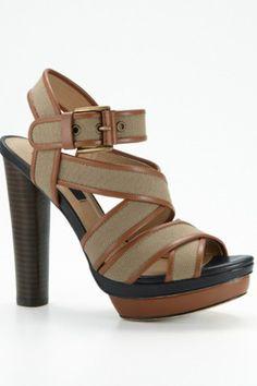Ann Taylor Platform Sandals
